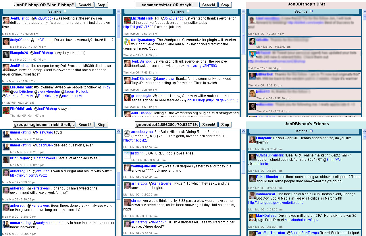 My TweetGrid