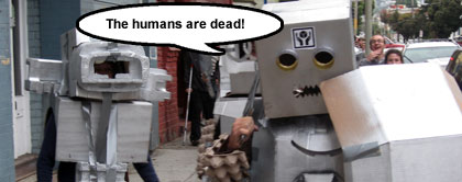 The Humans Are Dead on Twitter