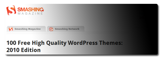 100 Free High Quality WordPress Themes: 2010 Edition