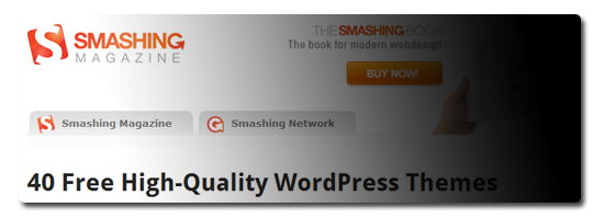 40 Free High-Quality WordPress Themes