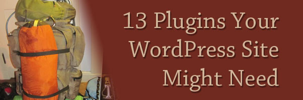 13 Plugins Your WordPress Site Might Need
