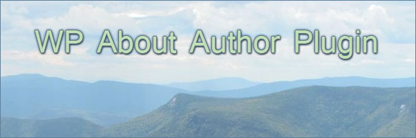 WP About Author