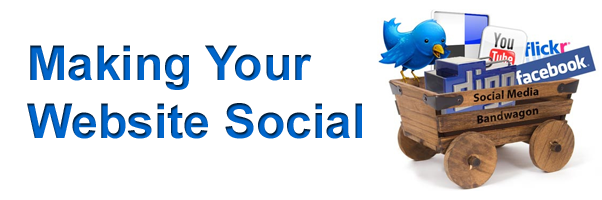 Making Your Website Social
